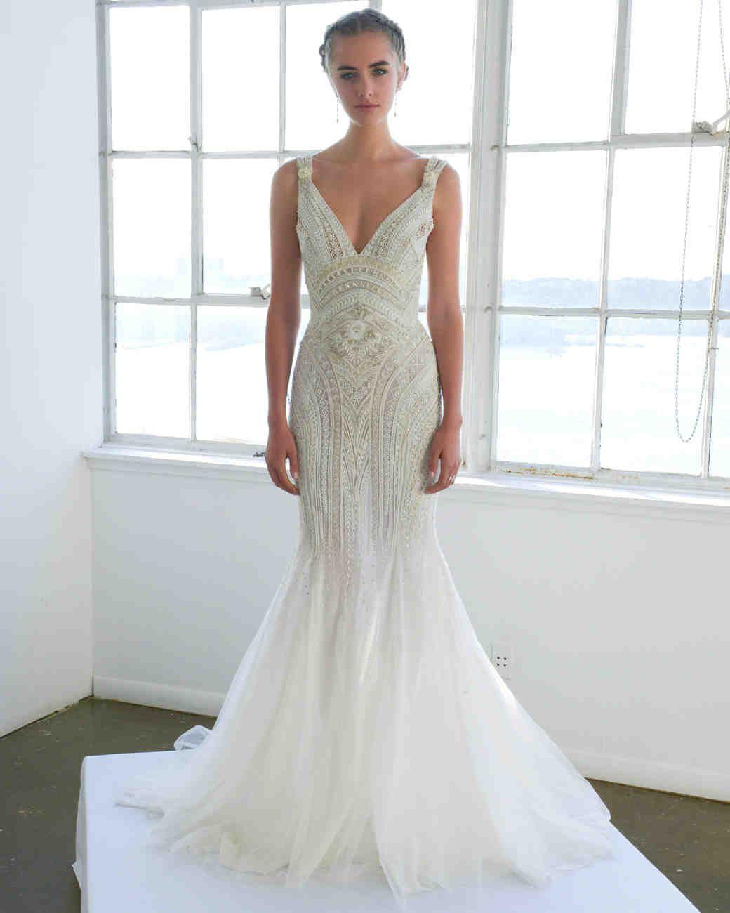 marchesa fall wedding dress collection martha stewart weddings ...
