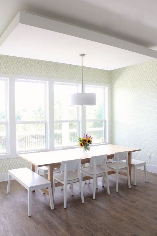 Check Out The Beautifully Simplistic Dining Room Of Dana Willard