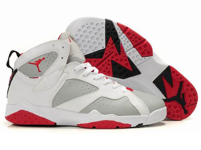 Air Jordan Retro 7 Shoes White Grey Red, cheap Jordan If you want to look Air  Jordan Retro 7 Shoes White Grey Red, you can view the Jordan 7 categories,  ...