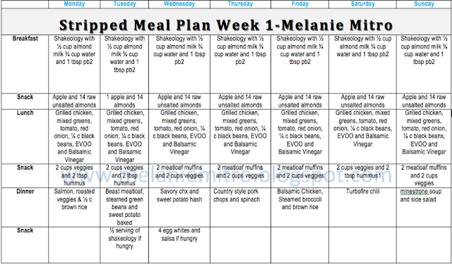 simple bodybuilding meal plan pdf