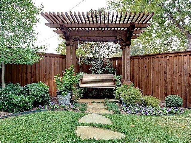 Garden Pergolas With Swing   Pergola With Swing