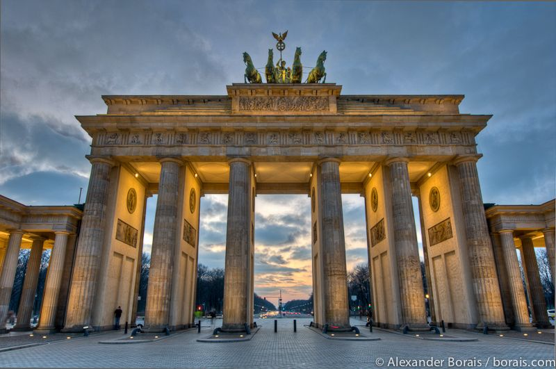 Brandenburg Gate Brandenburger Tor Von Alex Borais