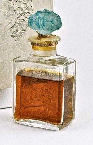 242 1920 Baccarat Peggy Hoyt Flowers Bottle Bottle Perfume