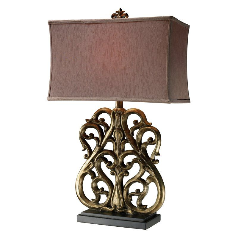 Dimond D1842 Roseville Table Lamp - D1842