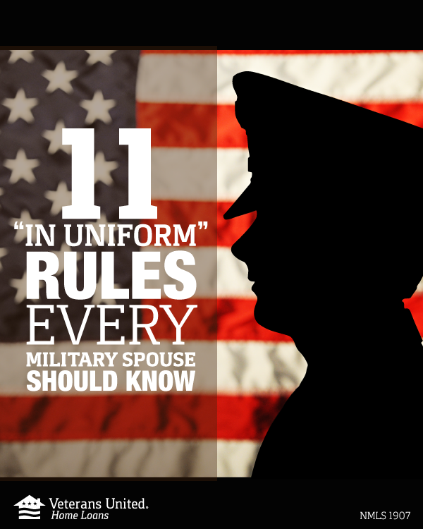 11 In Uniform Rules Every Military Spouse Should Know