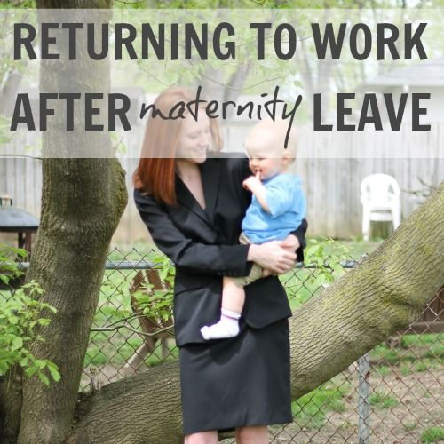 daily mom returning to work after maternity leave - Back To Work Returning To Work After Maternity Leave