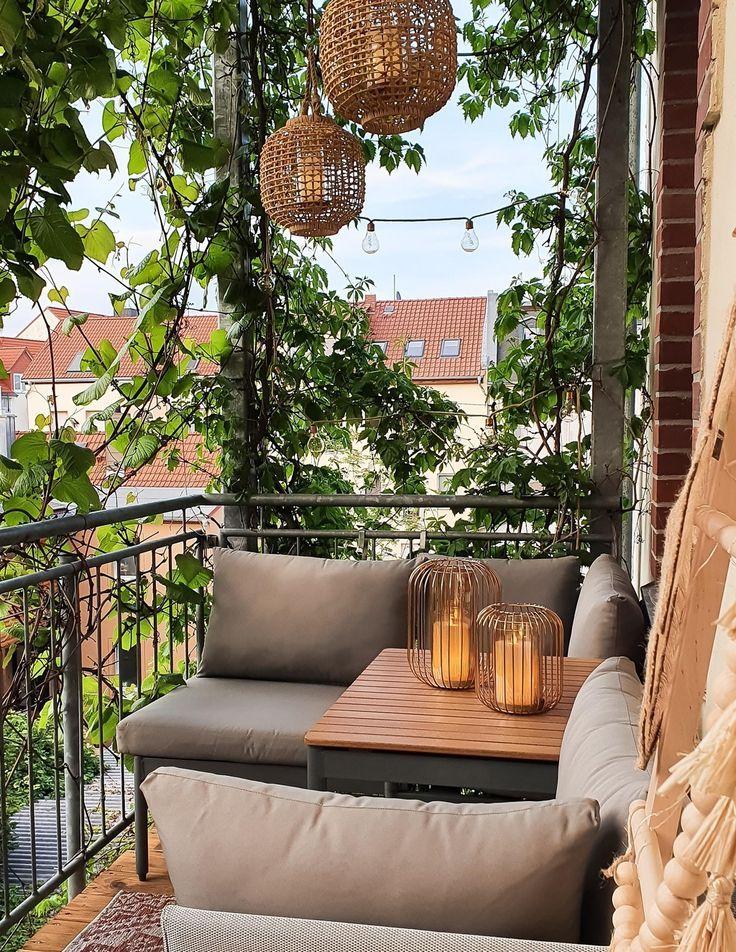 18+ Natürlich grüner Sichtschutz auf dem Balkon von Piamisuu Fotografie