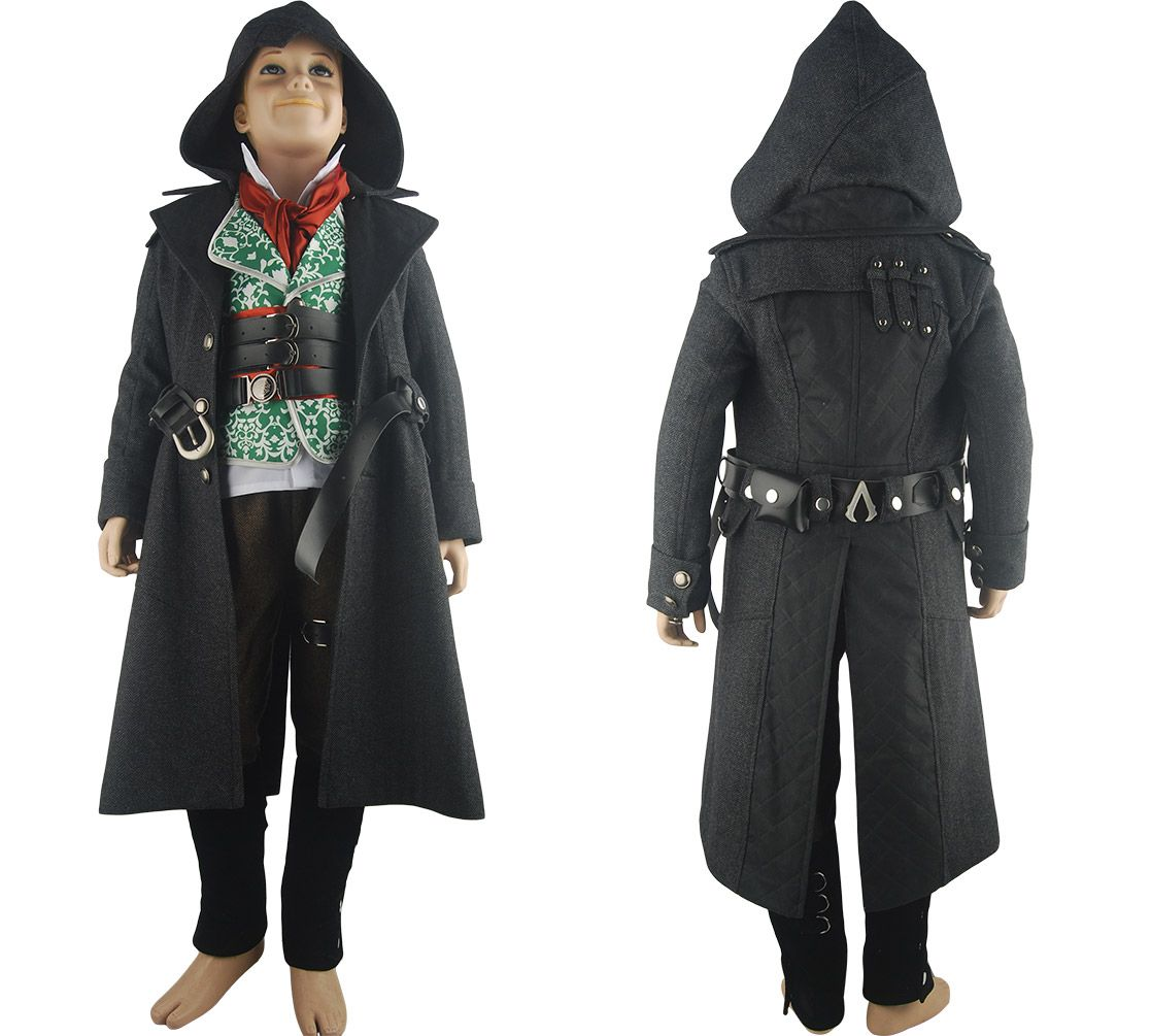 Assassin S Creed Syndicate Jacob Frye Cosplay Costume Halloween
