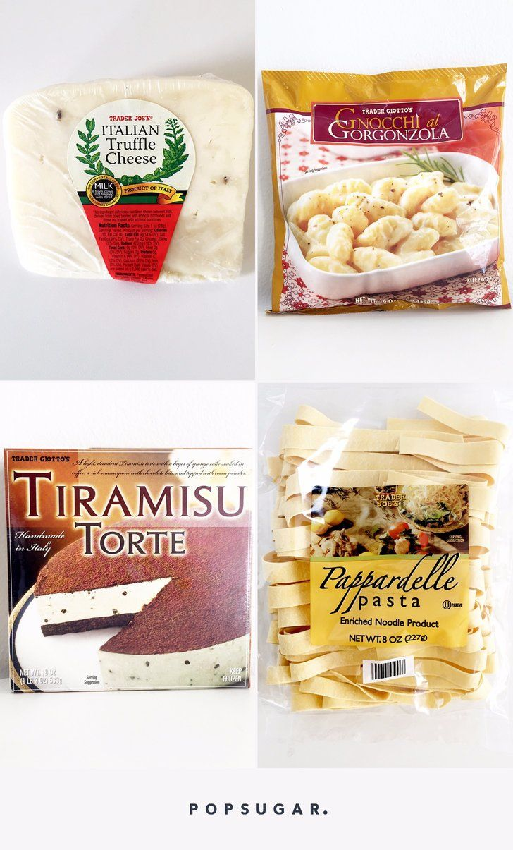 The 16 Best Italian Foods You Can Get at Trader Joe\'s | Easy on the ...