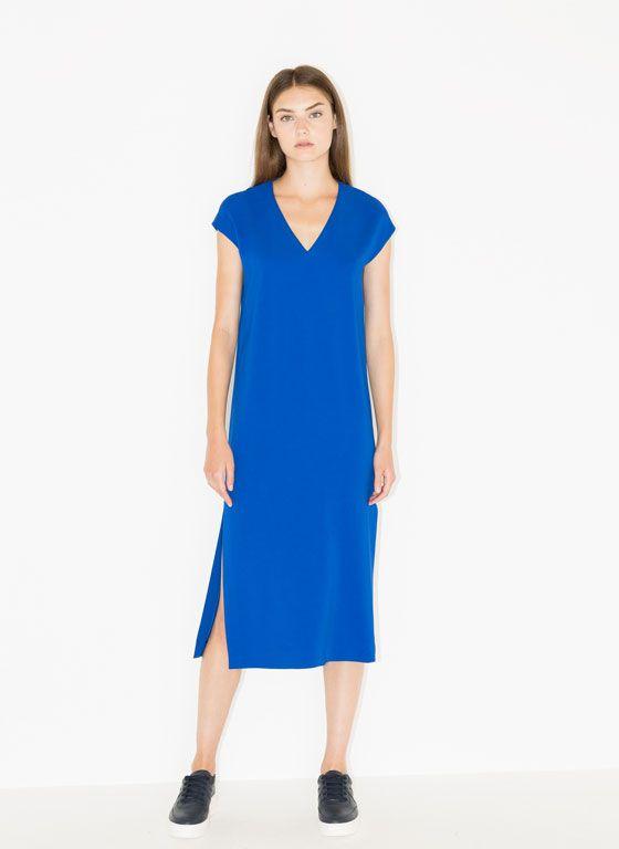 5ec900552d3 Straight cut dress - Dresses and Skirts - Ready to wear - Uterqüe United  Kingdom
