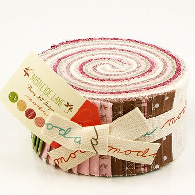 "Moda LIZZIE/'S LEGACY 1850-1880 Jelly Roll 31510JR 40 2.5/"" Quilt Fabric Strips"