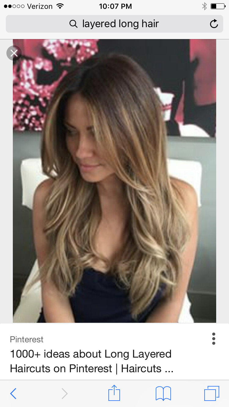 Pin By Juliet Wallace On Balayage Hair Hair Styles Long Hair Styles Long Layered Hair
