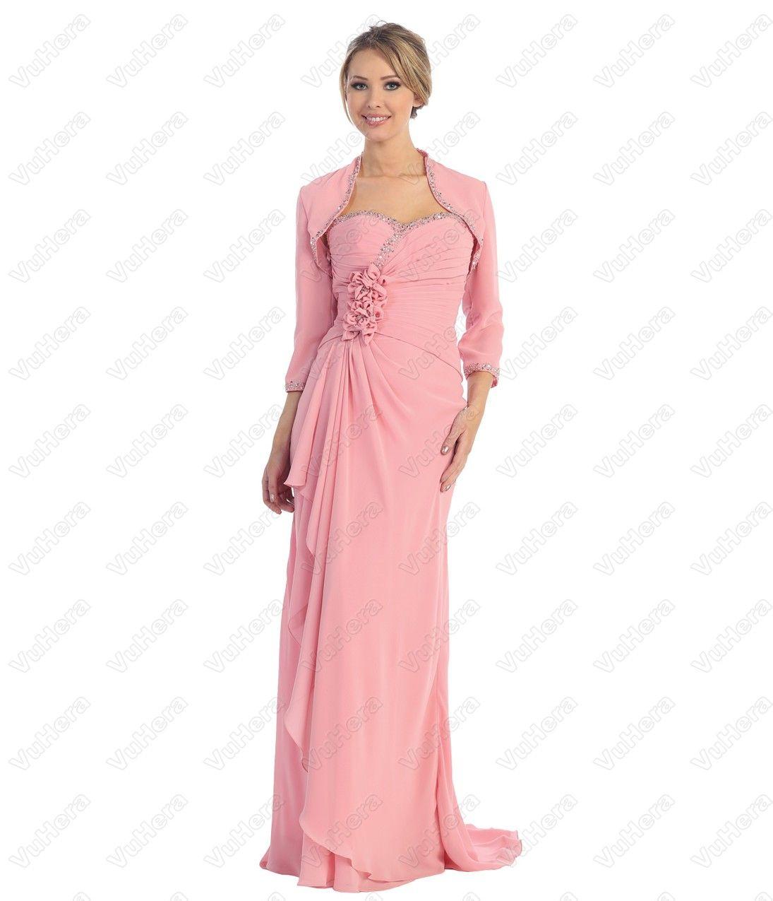 Rose Chiffon Prom Dress | Prom Dresses | Pinterest | Prom, Cheap ...