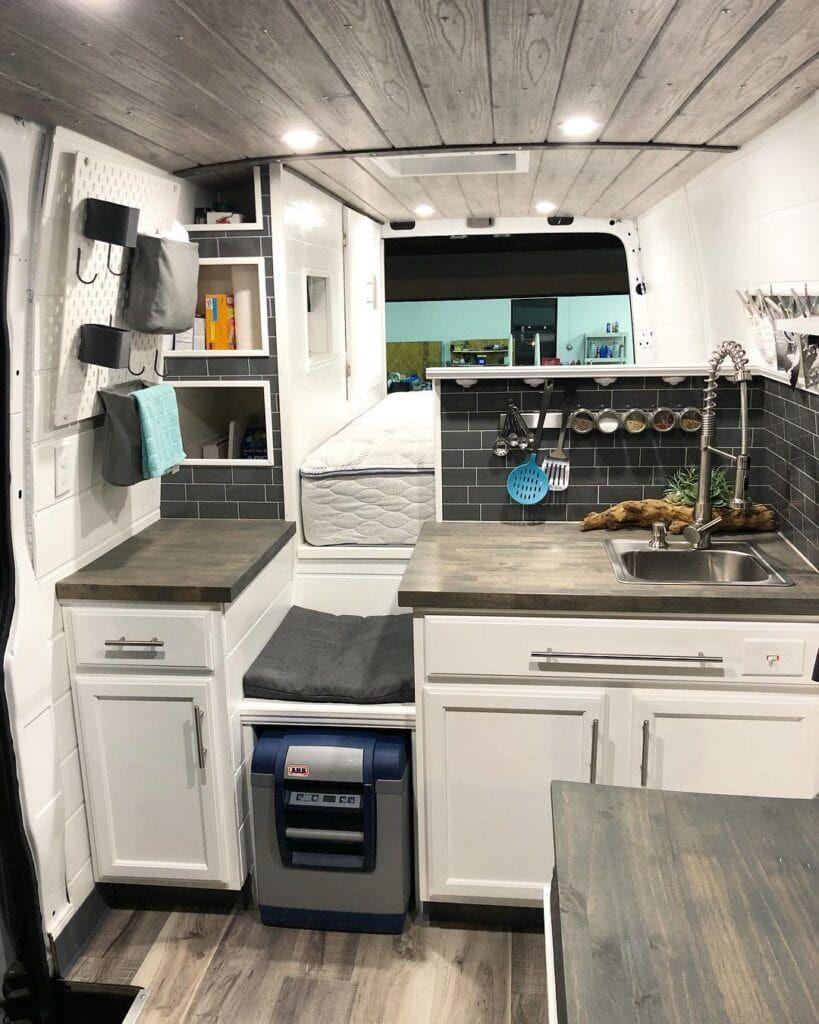 15 Camper Van Kitchens for Layout & Design Inspiration