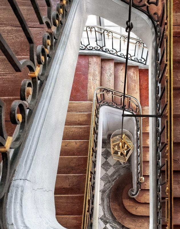 Greater Paris, Versailles Grand Parc, Staircases, Le Petit Trianon, Versailles