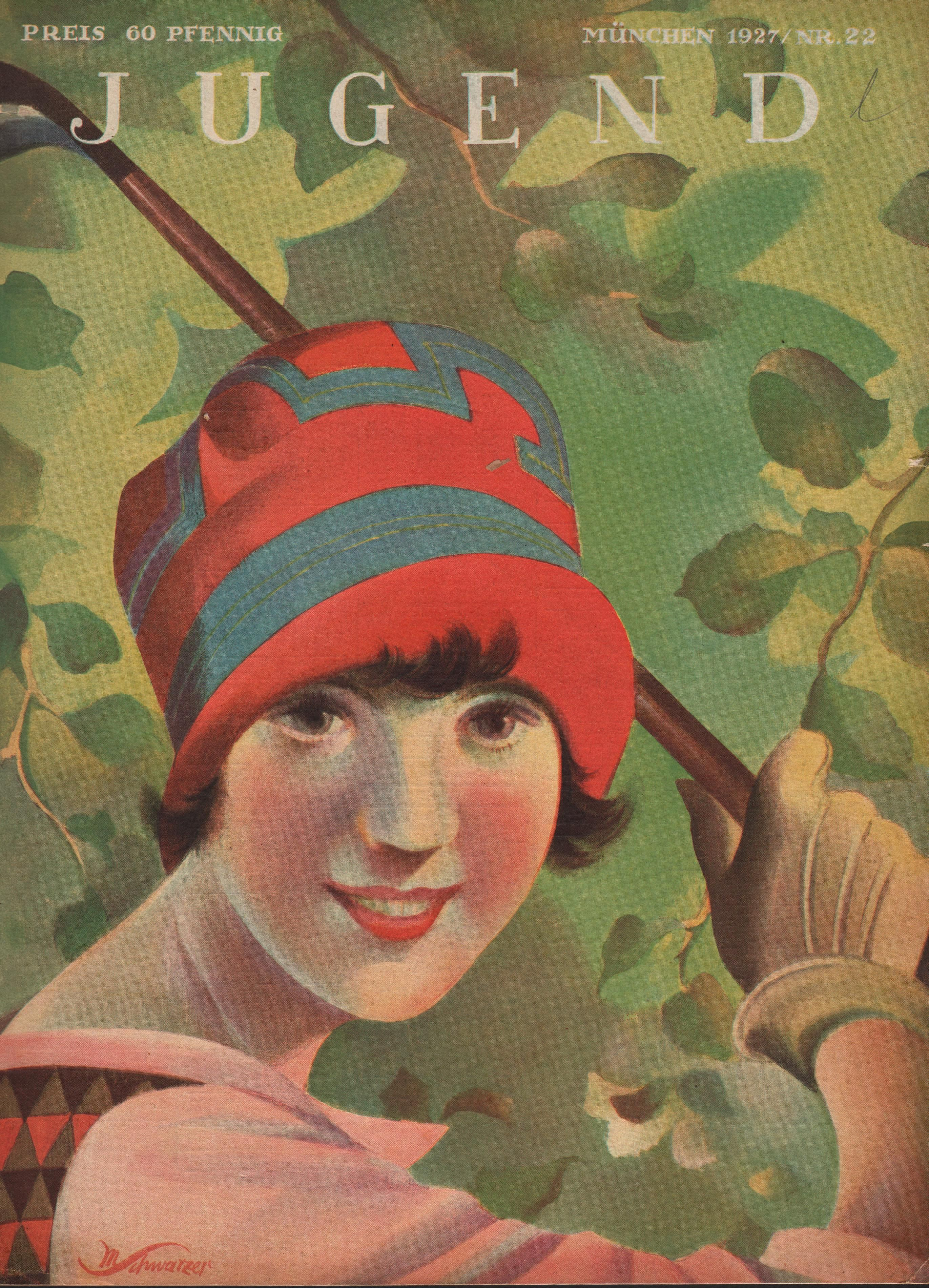 Jugend front cover - 1927