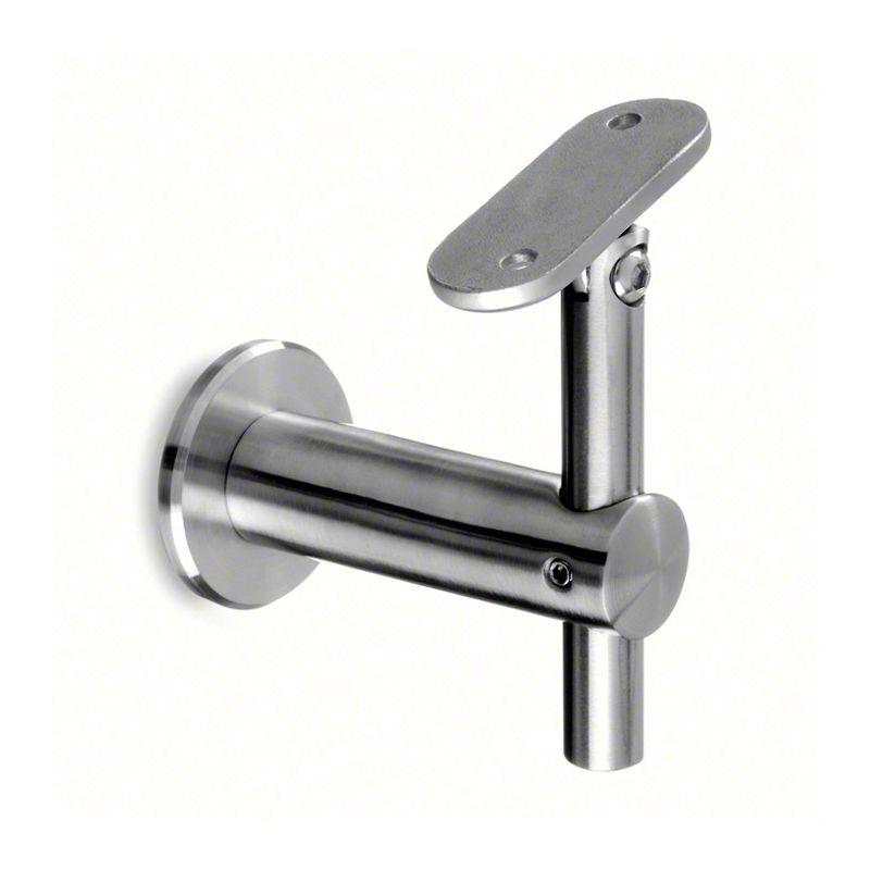 Best Square Line Adjustable Flat Handrail Bracket With Round 400 x 300