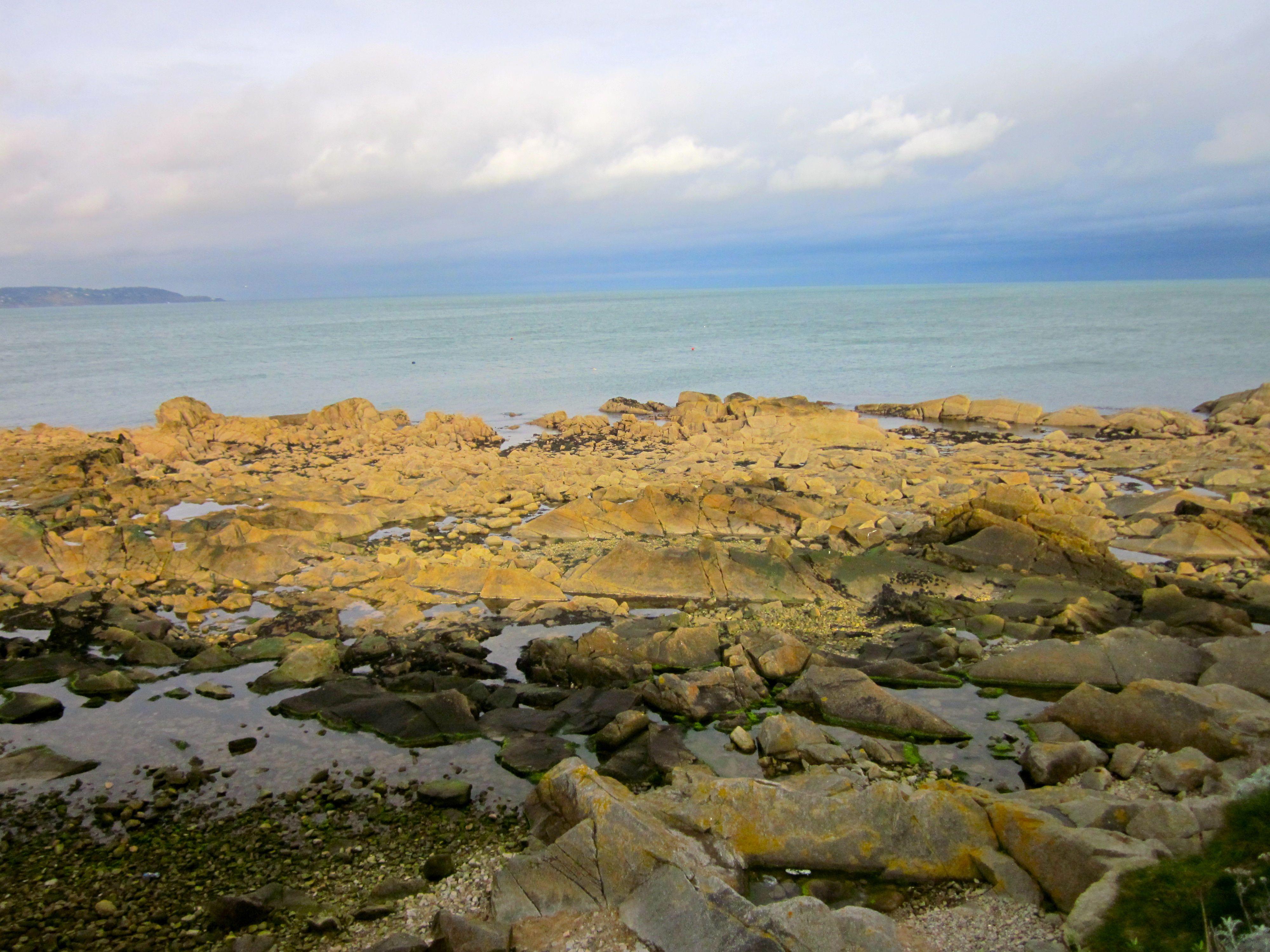Sandycove Beach in Dún Laoighre, Co.Dublin , Ireland (With