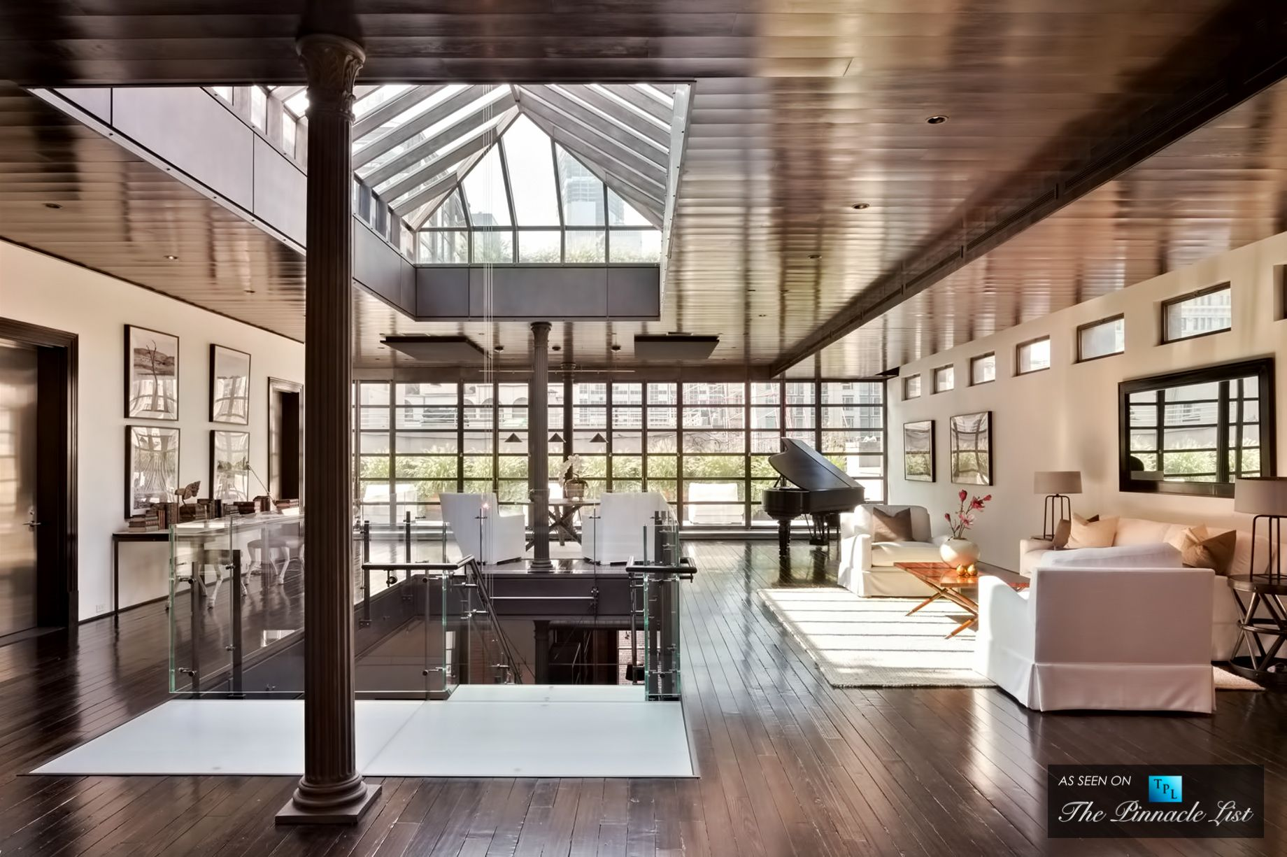 This 43 million luxury tribeca loft townhouse was the for Loft new york affitto