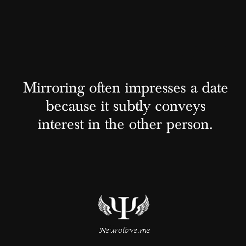 Mirroring psychology dating