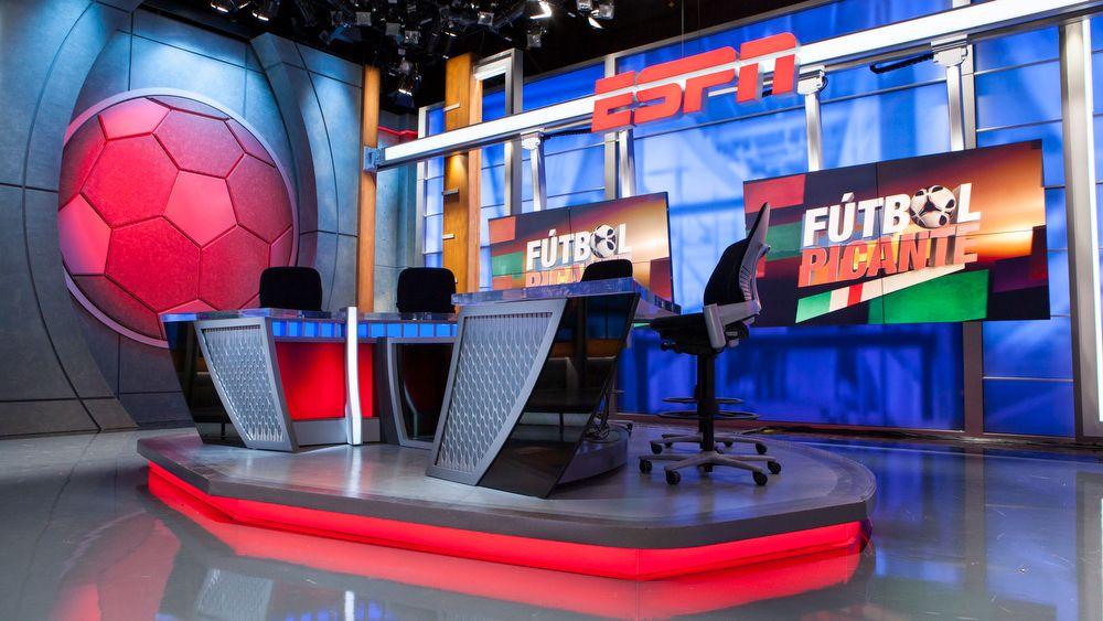 ESPN Deportes Set Design Gallery Tv set design, Stage