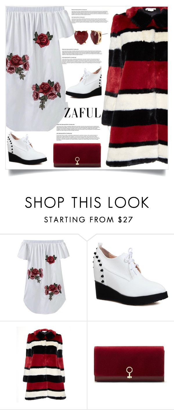 """""""Zaful  28"""" by nejra-l ❤ liked on Polyvore featuring Alice + Olivia, Louise et Cie and Betsey Johnson"""