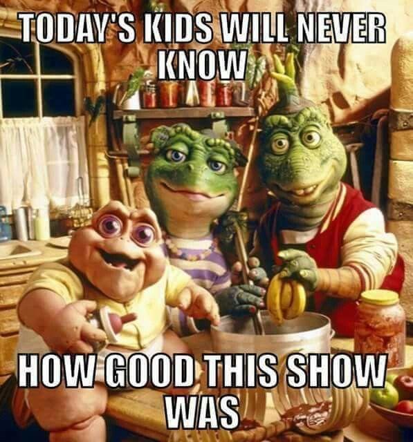 Dinosaurs Baby Tv Show Dinosaur Honey I M Home Not The Mama Dinosaurs Tv Funny Memes Dinosaurs Tv Series