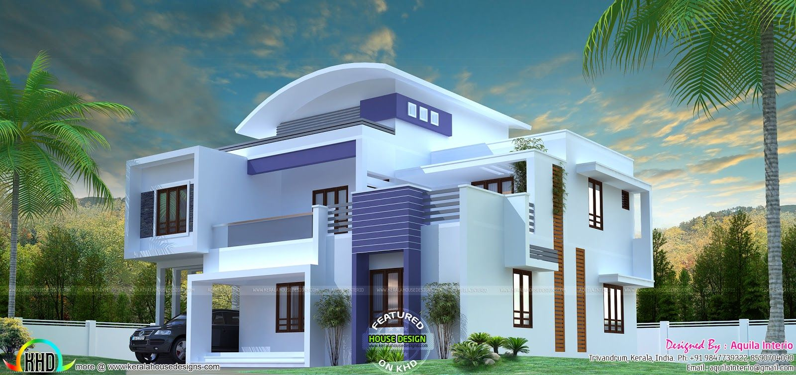Modern House Plan By Aquila Interio House Plans Modern House Architectural Design House Plans