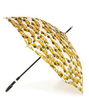 Cab Print Stick Umbrella- Cris Figueired♥