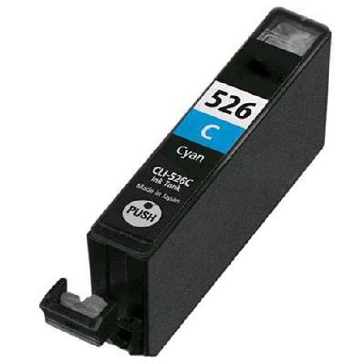 Compatible Cyan Canon CLI-526C Ink Cartridge: €4.31
