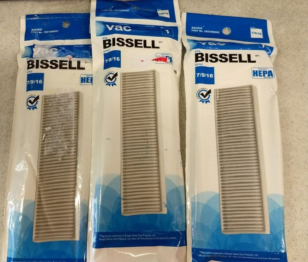 how to clean vacuum filter bissell