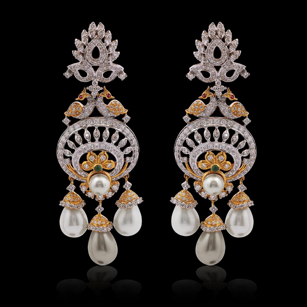Nac product detail diamond pearl chandelier earrings nac product detail diamond pearl chandelier earrings arubaitofo Choice Image