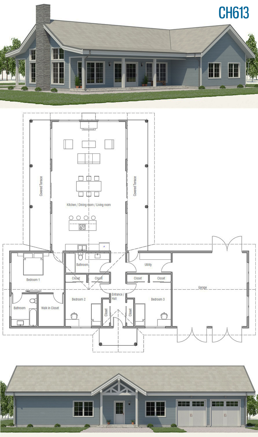 Home Plan Ch613 Town House Plans Building A House Dream House Plans