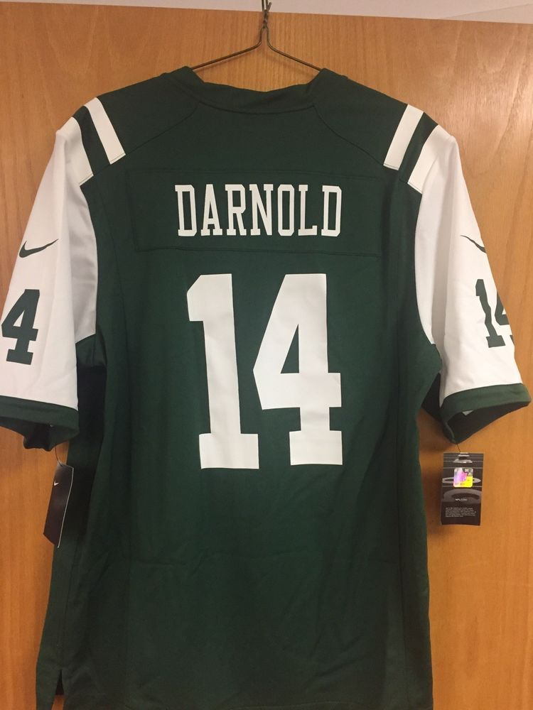 cd6c091db Sam Darnold NFL New York Jets Nike On Field Jersey Men s Size L