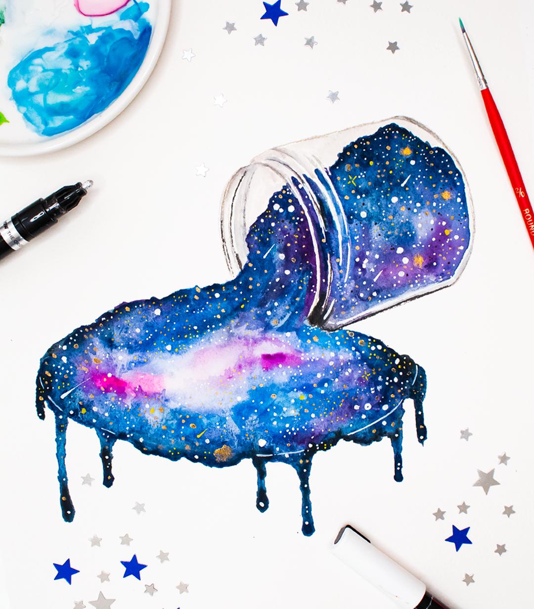 милые прикольные идеи для рисунков красками плод четыре