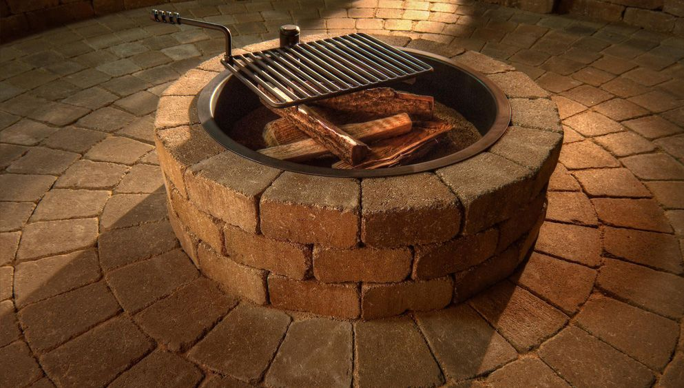 Compact Fire Ring Kit Necessories Kits For Outdoor Living