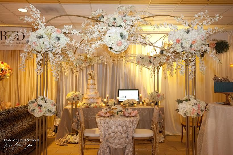 Perfectly romantic sweetheart table for your wedding ...