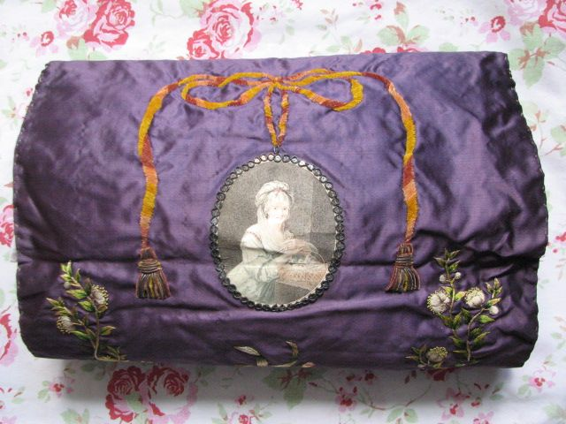 A divine and exceedingly rare silk muff, sold by Trinity Antiques in 2012