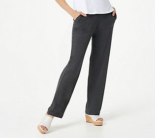 Susan took sweatpants and made them chic! Cozy up in these comfy pull-on pants that'll elevate your look from weekdays to weekends. From Susan Graver.