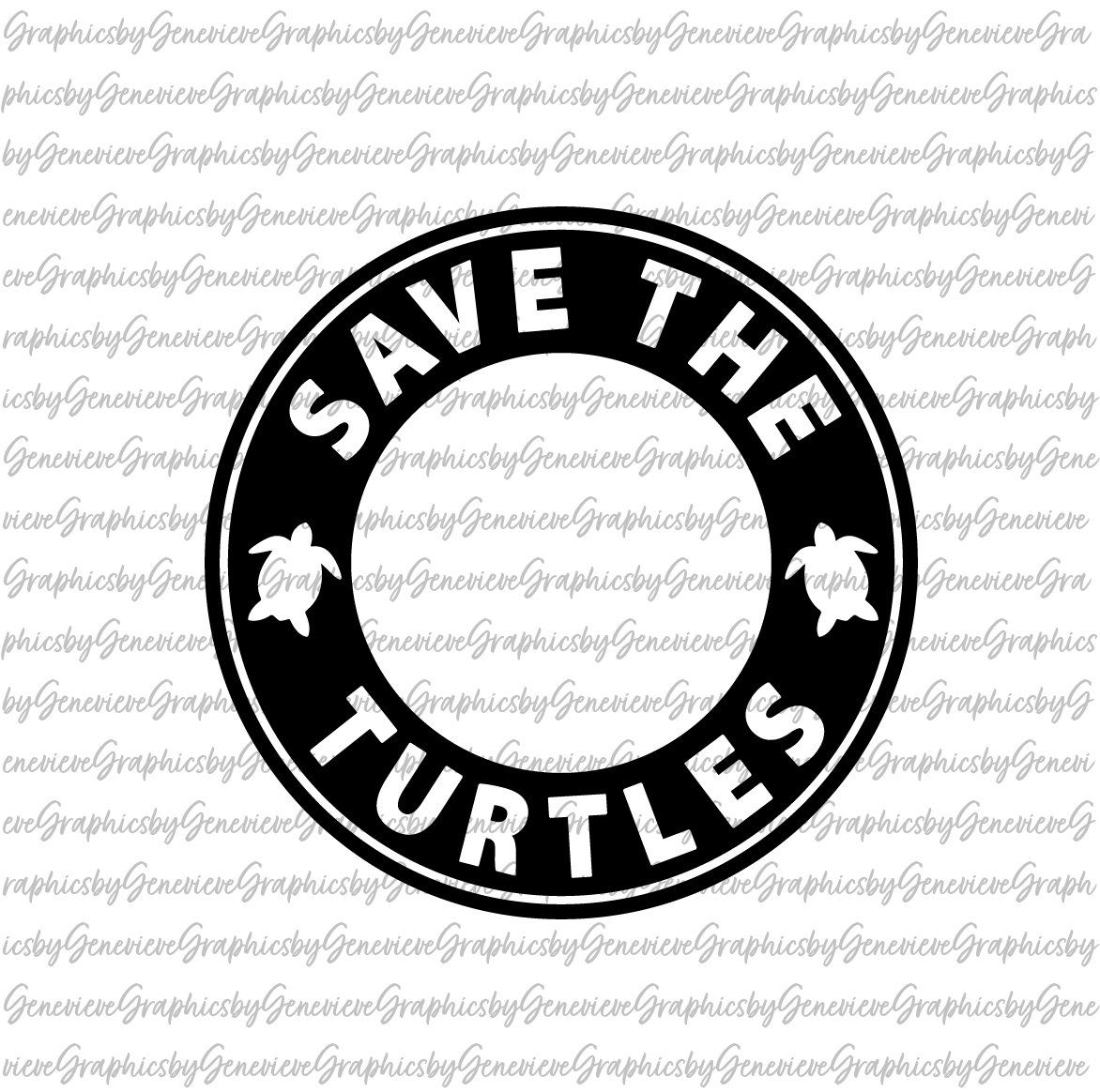 VCSO Girl SVG Save the Turtles SVG Turtles svg for