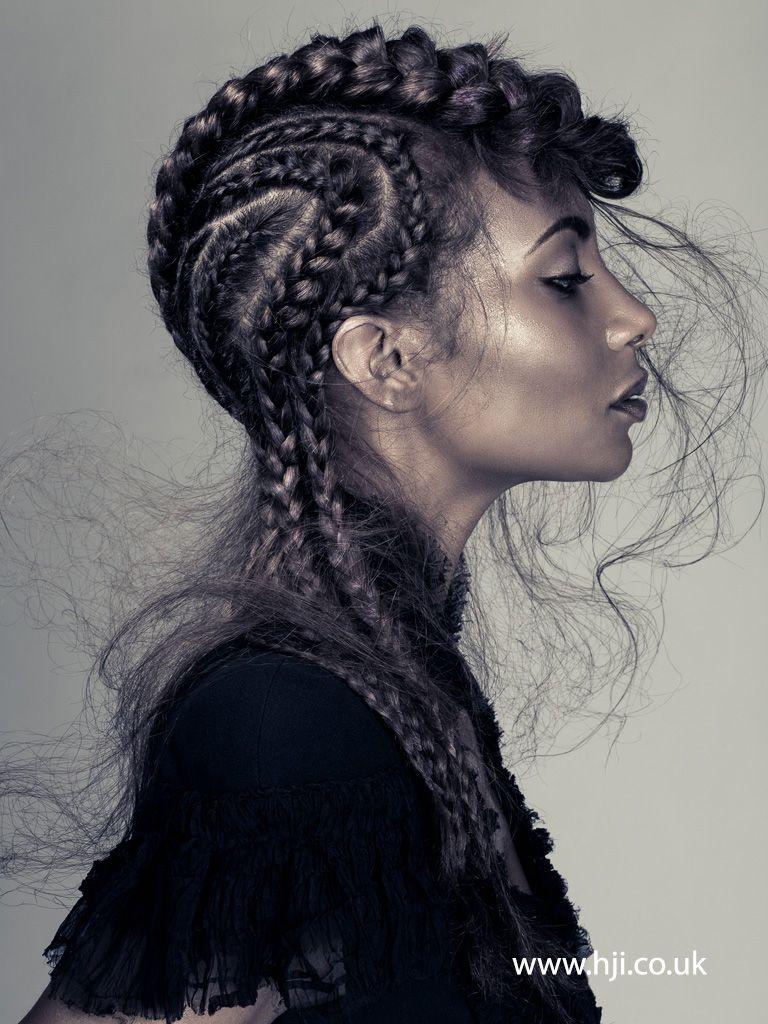 Luke benson u afro hairdresser of the year finalist collection