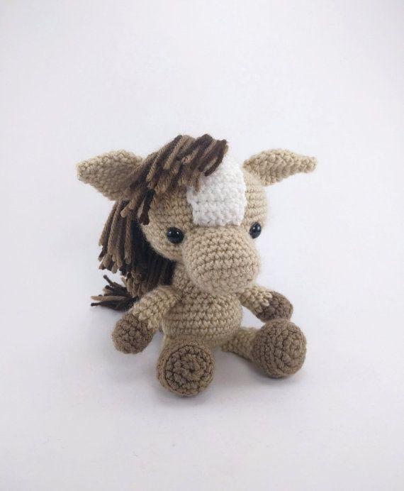 PATTERN: Crochet horse pattern amigurumi horse pattern | Lovacskák ...