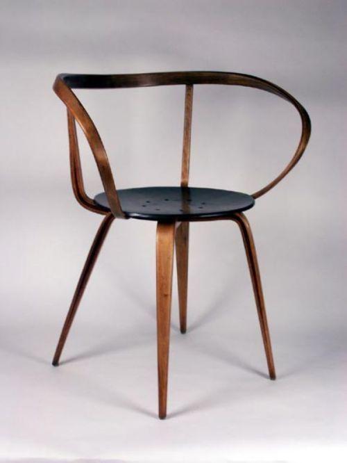 Delightful Giantbeard: WantedChair Pretzel Chair   George Nelson | Via Vineetkaur
