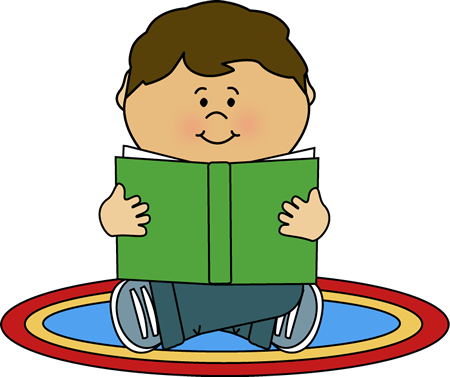 kid reading on a rug carmen pinterest kids reading clip art rh pinterest ca