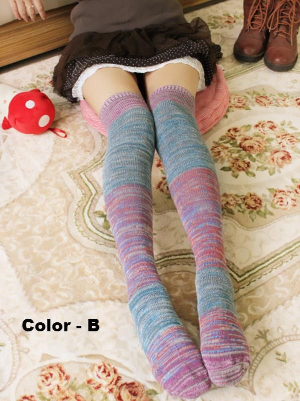 Yuki over the knee socks