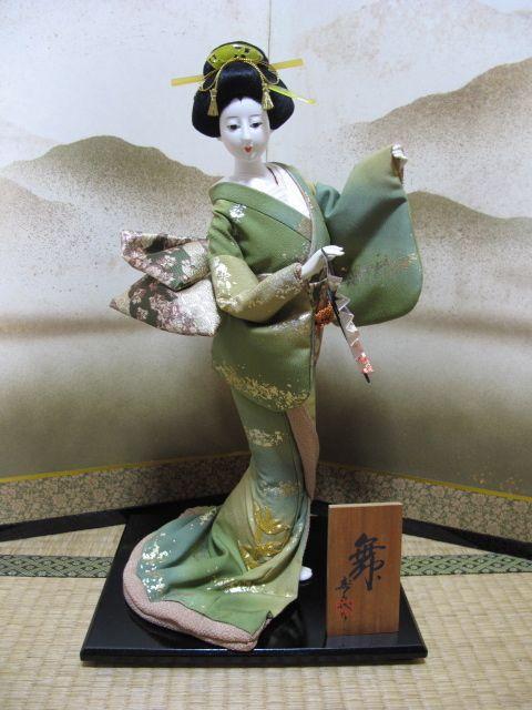Japanese Vintage Doll Oyama Ningyo Beautiful Geisya Sukiyo Signed 9163   eBay