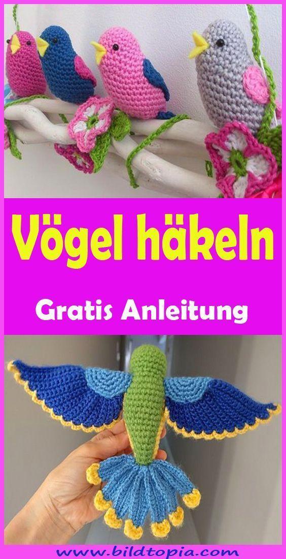 Photo of Häkeln Vögel – Free & Easy Instructions – H – Kleiner Balkon Ideen