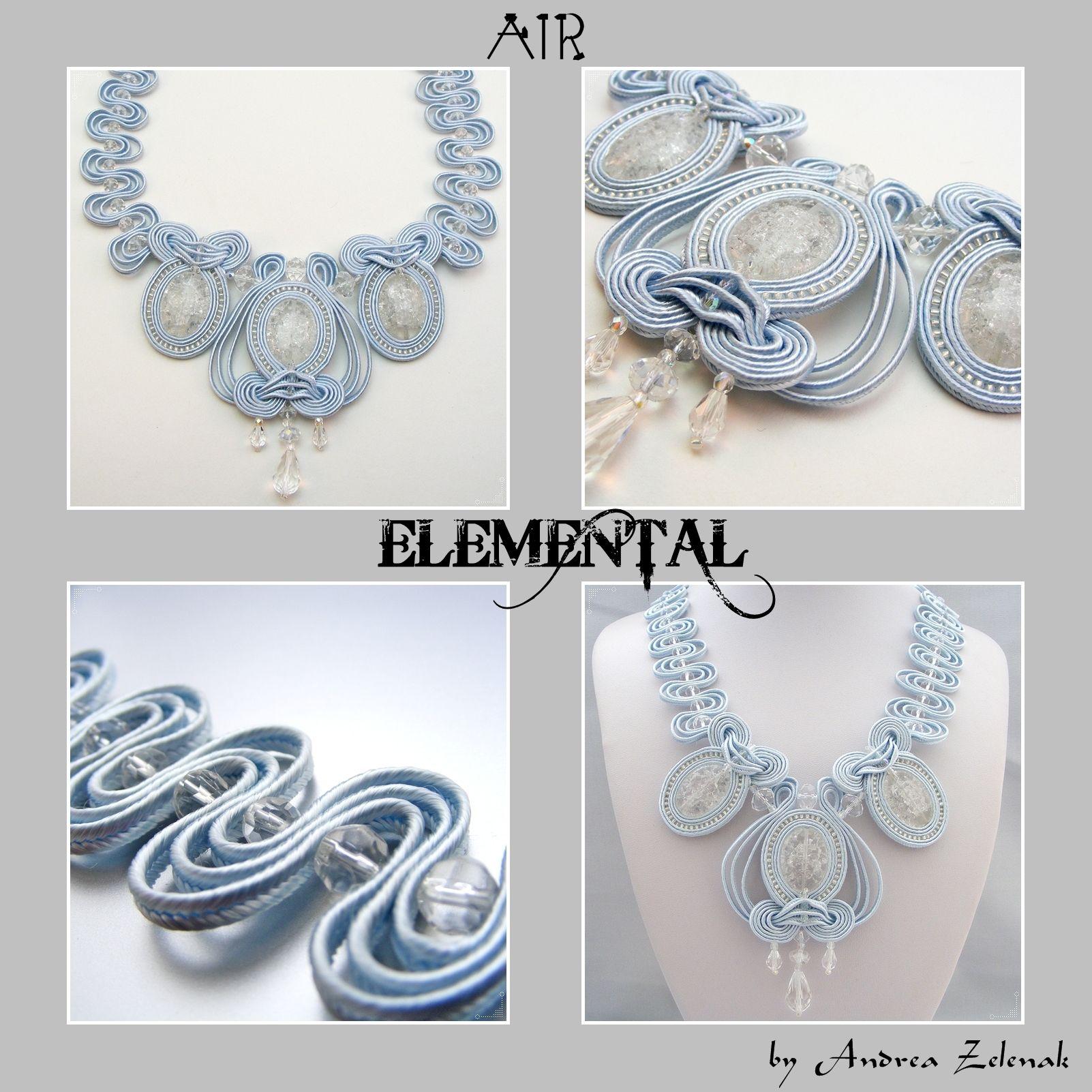 AIR - Elemental Collection - Andrea Zelenak - Andrea.Z Style - soutache