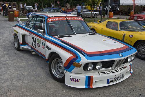 Bmw 3 0 Csl E9 Bmw Racing 70s Cars
