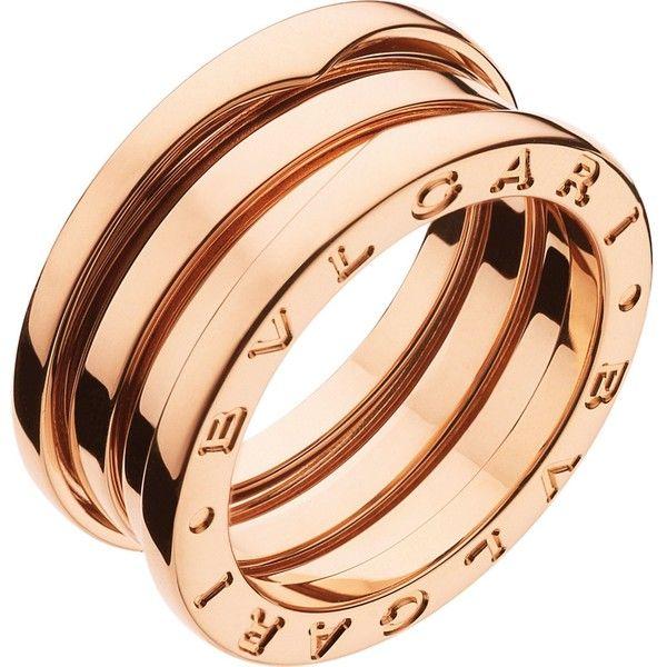 BVLGARI Bzero1 threeband 18kt pinkgold ring 25643725 IDR